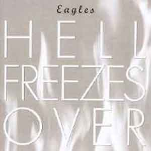 Eagles Hell Freezes Over Live LP uit 1994