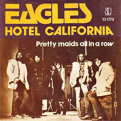 Eagles Hotel California Hit uit 1977
