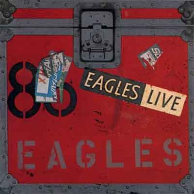 Eagles Live LP uit 1980