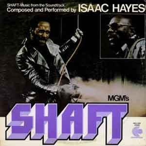 Isaac Hayes Shaft LP uit 1971