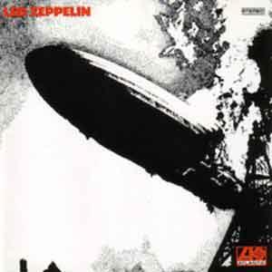 Led Zeppelin Debuut LP uit 1969