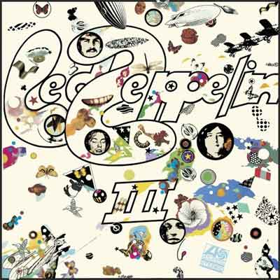 Led Zeppelin III LP uit 1970