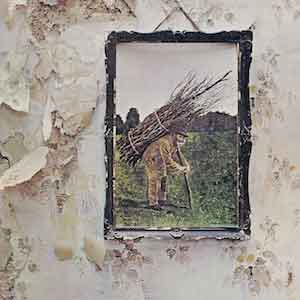 Led Zepplin IV LP uit 1971