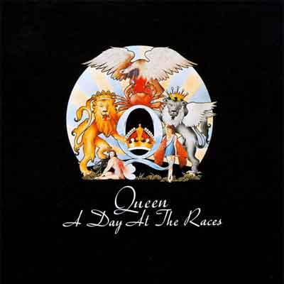 Queen A Day at the Races LP uit 1976