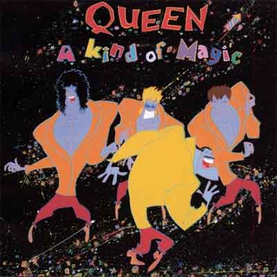 Queen A Kind of Magic LP uit 1986