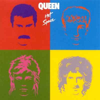 Queen Hot Space LP uit 1982