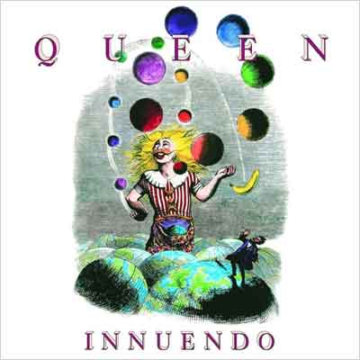 Queen Innuendo LP uit 1991