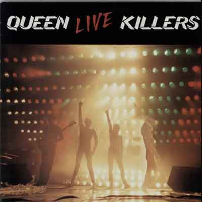 Queen Live Killers Live LP uit 1979