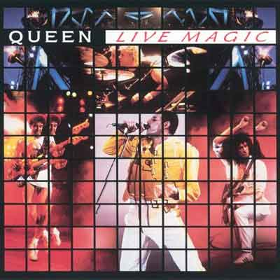 Queen Live Magic Live LP uit 1986
