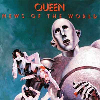 Queen News of the World LP uit 1977