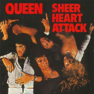 Queen Sheer Heart Attack LP uit 1974