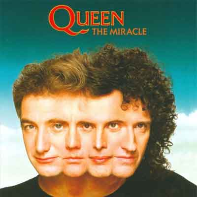 Queen The Miracle LP uit 1989