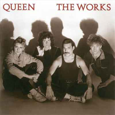 Queen The Works LP uit 1984