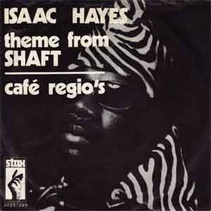 Theme from Shaft Isaac Hayes LP's Albums Hits