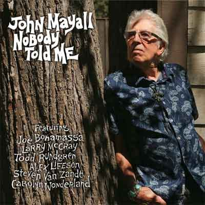 John Mayall Nobody Told Me LP Recensie Review