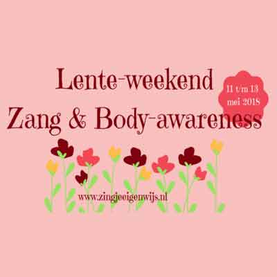 Zang en Body Awareness Lente Weekend