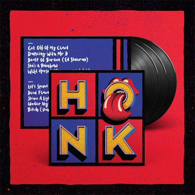Rolling Stones Honk LP Tracklist Nummers en Informatie
