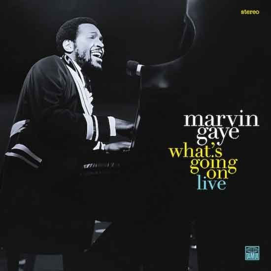 Marvin Gaye What's Going On Live LP Recensie