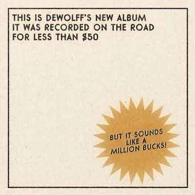 DeWolff Tascam Tapes LP Recensie